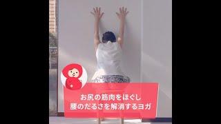 【マタニティヨガ】お尻の筋肉をほぐし腰のだるさを解消するヨガ(産前中期、産前後期)