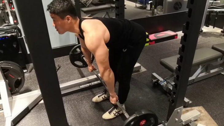 背中の厚みを作るなら筋肉この種目