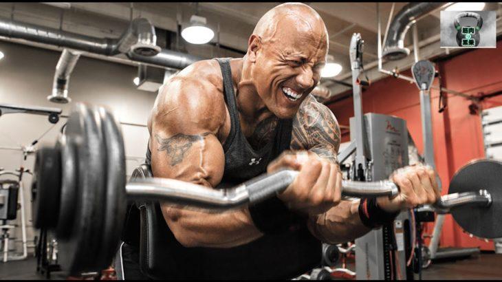 ザ・ロックの過酷なトレーニング 大事なのは筋肉へのフォーカス!