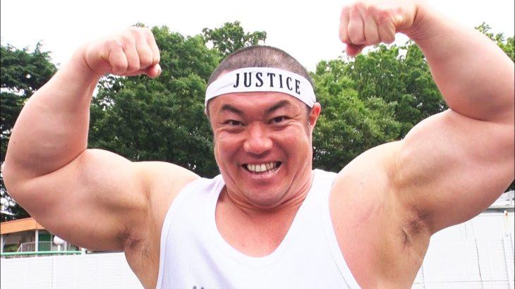 【筋肉伝説】握力90kgのジャスティス岩倉はフライパン15枚を何秒で曲げられるのか!?【フライパン曲げタイムアタック】Macho man vs Frying Pans