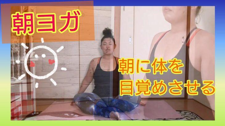 【朝ヨガ】朝から体をゆったり、かつ!軽く筋肉も動かし目覚めさせよう!