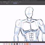 筋肉を描くのが苦手なので克服したい①【練習】