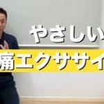 腰痛予防のための筋肉の鍛え方、大阪のパーソナルトレーナー指導「毎日できる3つの腰痛エクササイズ」腰痛予防の筋トレ法、ストレッチ法 大阪市阿倍野区パーソナルフィットネスジム、健康運動指導士監修