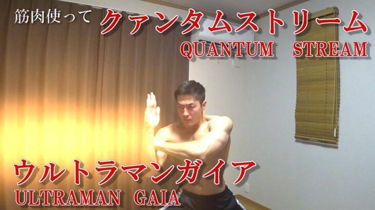 筋肉使ってクァンタムストリーム/ウルトラマンガイア(ULTRAMAN GAIA/QUANTUM STREAM)