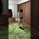 【ボディビル】New trick 🛴ゲットした後の筋肉自慢🤣キレてるよ〜バリバリ❗#shorts