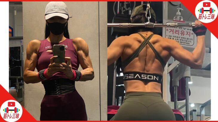 ビキニ選手の筋肉量が凄い│da Vinci(@yeinart0718)さん【筋トレ女子】