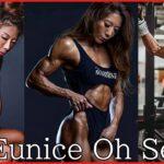 彫刻のような筋肉を持つ韓国最強のフィギュア選手│Eunice Oh Seungさん【筋トレ女子】