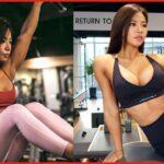 【筋肉女子】韓国の美人すぎる筋トレ女子 IFBB BIKINI PRO│권은진さん
